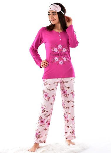 Pemilo Pijama Takım Fuşya